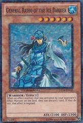 General Raiho of the Ice Barrier - DT04-EN035 - Super Parallel Rare - Duel Terminal