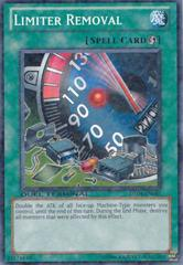 Limiter Removal - DT04-EN045 - Duel Terminal Normal Parallel Rare - 1st Edition on Channel Fireball