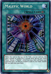 Malefic World - YMP1-EN008 - Secret Rare - Limited Edition on Channel Fireball