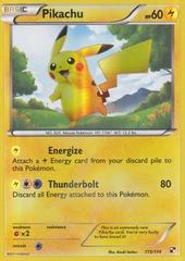 Pikachu - 115/114 - Secret Rare