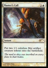 Master's Call - Gateway Foil