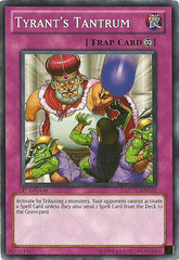 Tyrant's Tantrum - EXVC-EN075 - Common - 1st Edition