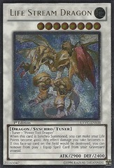 Life Stream Dragon - EXVC-EN038 - Ultimate Rare - 1st Edition