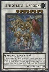 Life Stream Dragon - EXVC-EN038 - Ultimate Rare - 1st Edition