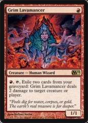 Grim Lavamancer on Channel Fireball