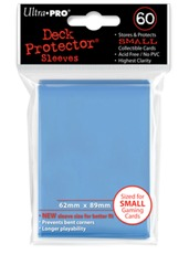 Ultra Pro Small Size Light Blue Sleeves - 60ct
