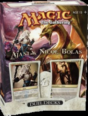 Duel Decks: Ajani vs. Nicol Bolas on Channel Fireball