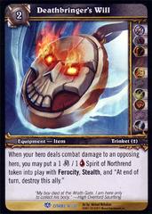 Deathbringer's Will - Foil