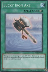 Lucky Iron Axe - YS11-EN030 - Common - 1st Edition on Channel Fireball