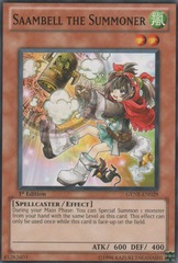 Saambell the Summoner - GENF-EN029 - Common - 1st Edition
