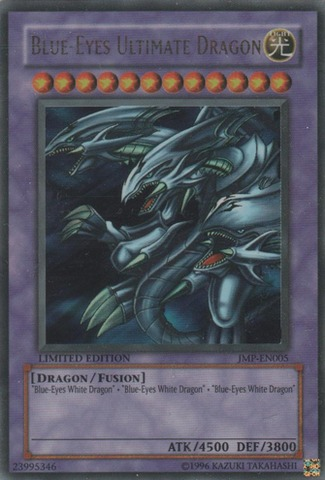 Blue-Eyes Ultimate Dragon - JMP-EN005 - Ultra Rare - Promo Edition