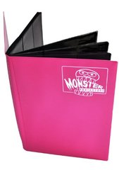 Monster Protectors 9 Pocket Matte Pink Binder