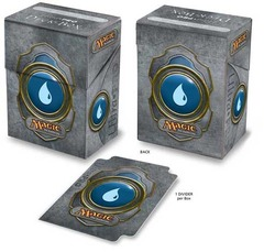 Ultra Pro Blue Mana Symbol 3 Deck Box