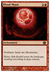 Blood Moon - Foil on Channel Fireball
