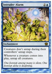 Intruder Alarm - Foil on Channel Fireball
