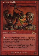 Goblin Welder - Foil on Channel Fireball