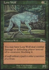 Lone Wolf - Foil on Ideal808