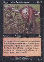 Apprentice Necromancer - Foil on Channel Fireball