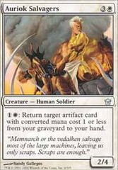 Auriok Salvagers - Foil on Channel Fireball