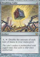 Doubling Cube - Foil on Channel Fireball