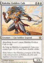 Raksha Golden Cub - Foil on Channel Fireball