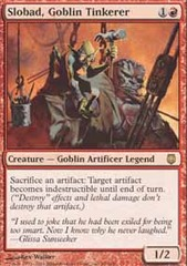 Slobad, Goblin Tinkerer - Foil on Channel Fireball