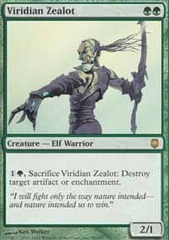Viridian Zealot - Foil on Ideal808