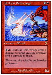 Reckless Embermage - Foil