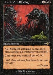Death Pit Offering - Foil
