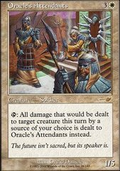 Oracle's Attendants - Foil