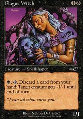 Plague Witch - Foil