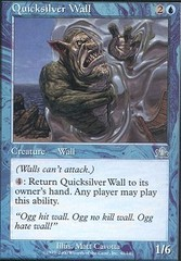 Quicksilver Wall - Foil