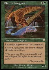 Blurred Mongoose - Foil