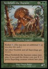 Verdeloth the Ancient - Foil