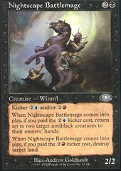 Nightscape Battlemage - Foil