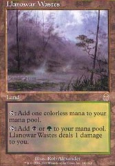 Llanowar Wastes - Foil on Channel Fireball
