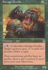 Savage Gorilla - Foil