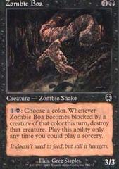 Zombie Boa - Foil