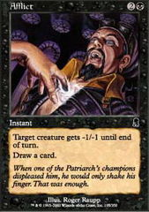 Afflict - Foil on Channel Fireball