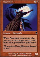 Anarchist - Foil on Channel Fireball