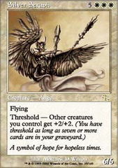 Silver Seraph - Foil on Channel Fireball