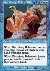 Wormfang Behemoth - Foil