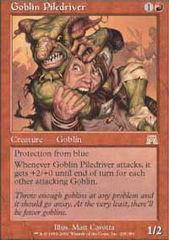 Goblin Piledriver - Foil on Ideal808