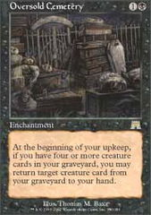 Oversold Cemetery - Foil on Channel Fireball