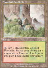 Wooded Foothills - Foil on Channel Fireball