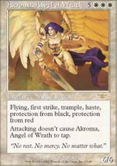 Akroma, Angel of Wrath - Foil on Ideal808