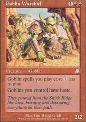 Goblin Warchief - Foil on Channel Fireball