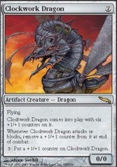 Clockwork Dragon - Foil