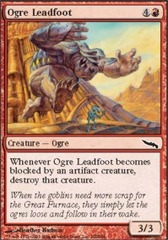 Ogre Leadfoot - Foil