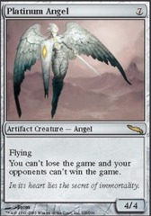 Platinum Angel - Foil on Channel Fireball